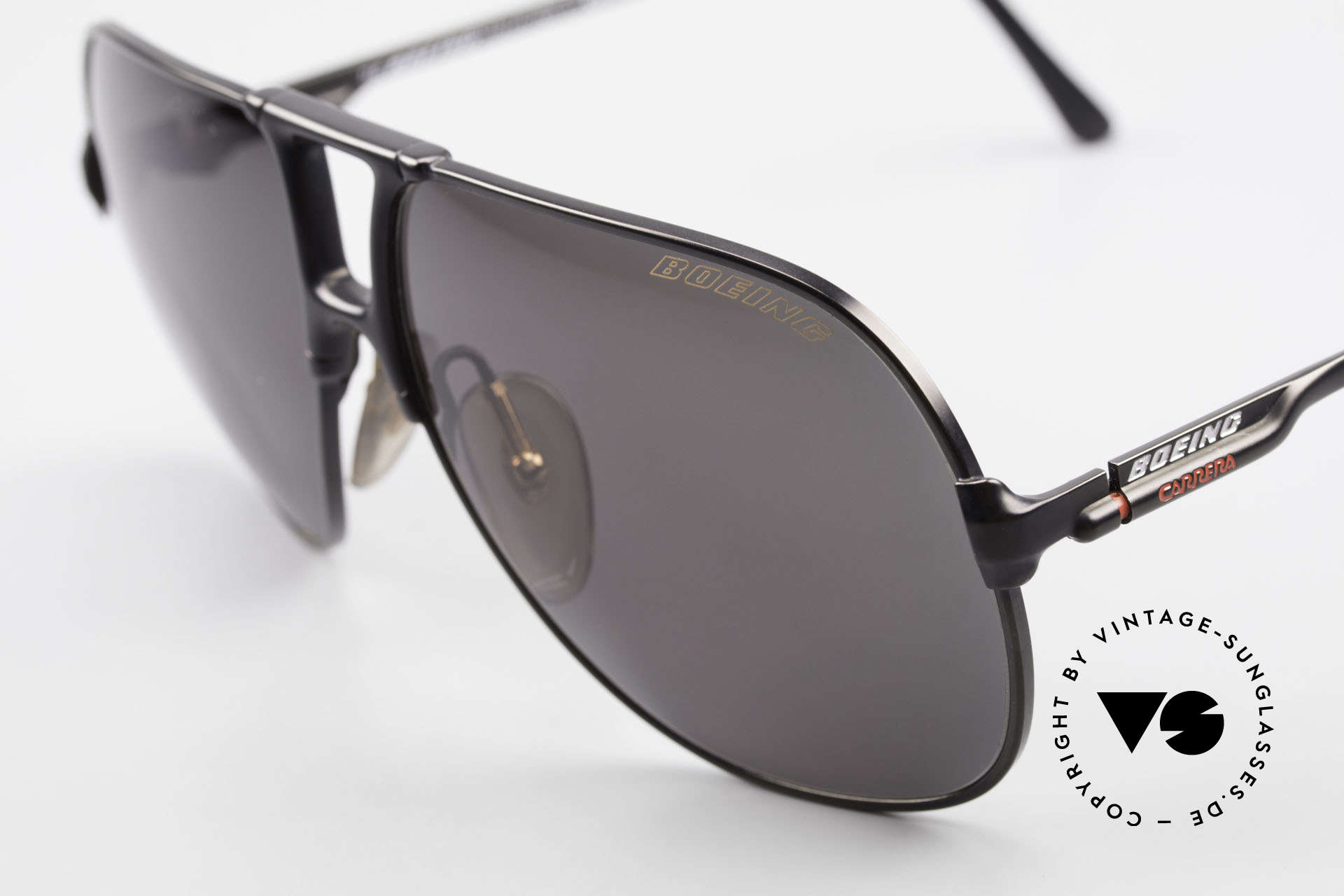 """Boeing 5700 Vintage 80's Pilots Shades, """"SMALL"""" 80's size (60/12) = a MEDIUM size, today, Made for Men and Women"""