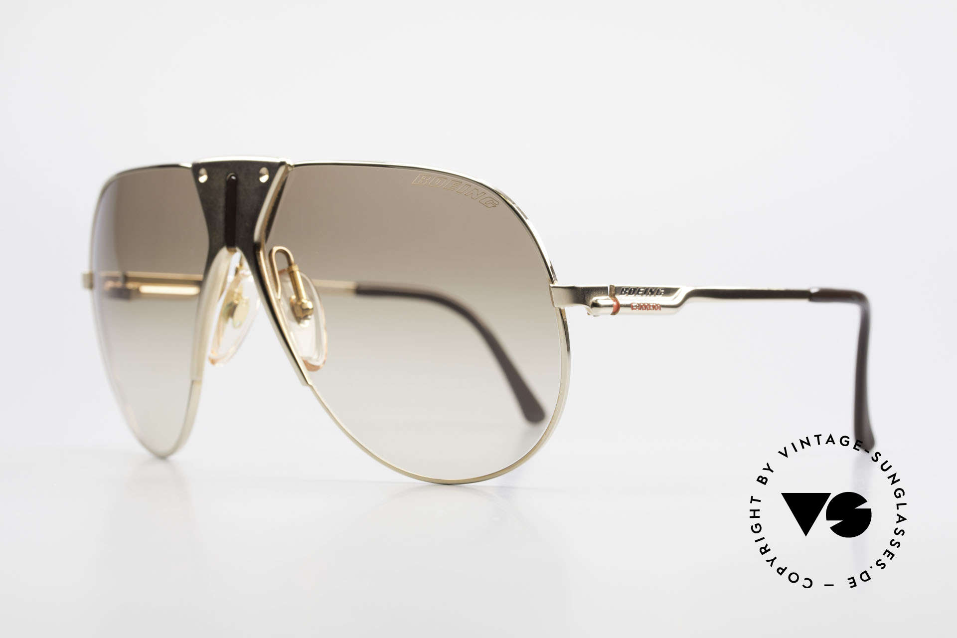 Boeing 5701 Famous 80's Pilots Sunglasses, made by Carrera only for the BOEING pilots needs, Made for Men and Women
