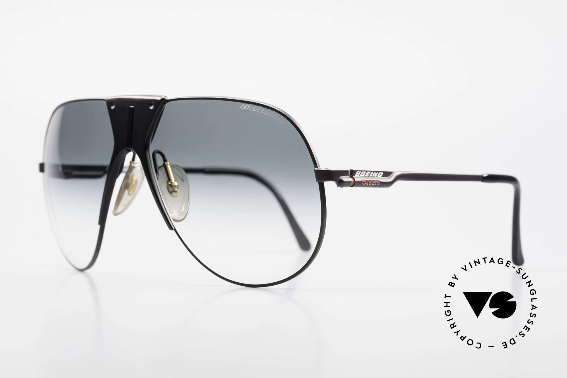 Boeing 5701 Rare XL 80's Pilots Shades, made by Carrera only for the BOEING pilots needs, Made for Men