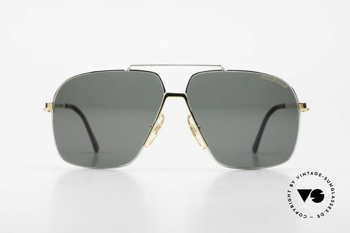 Boeing 5704 Original Old 80's Pilots Shades, best aviator styling & functional high-tech details, Made for Men