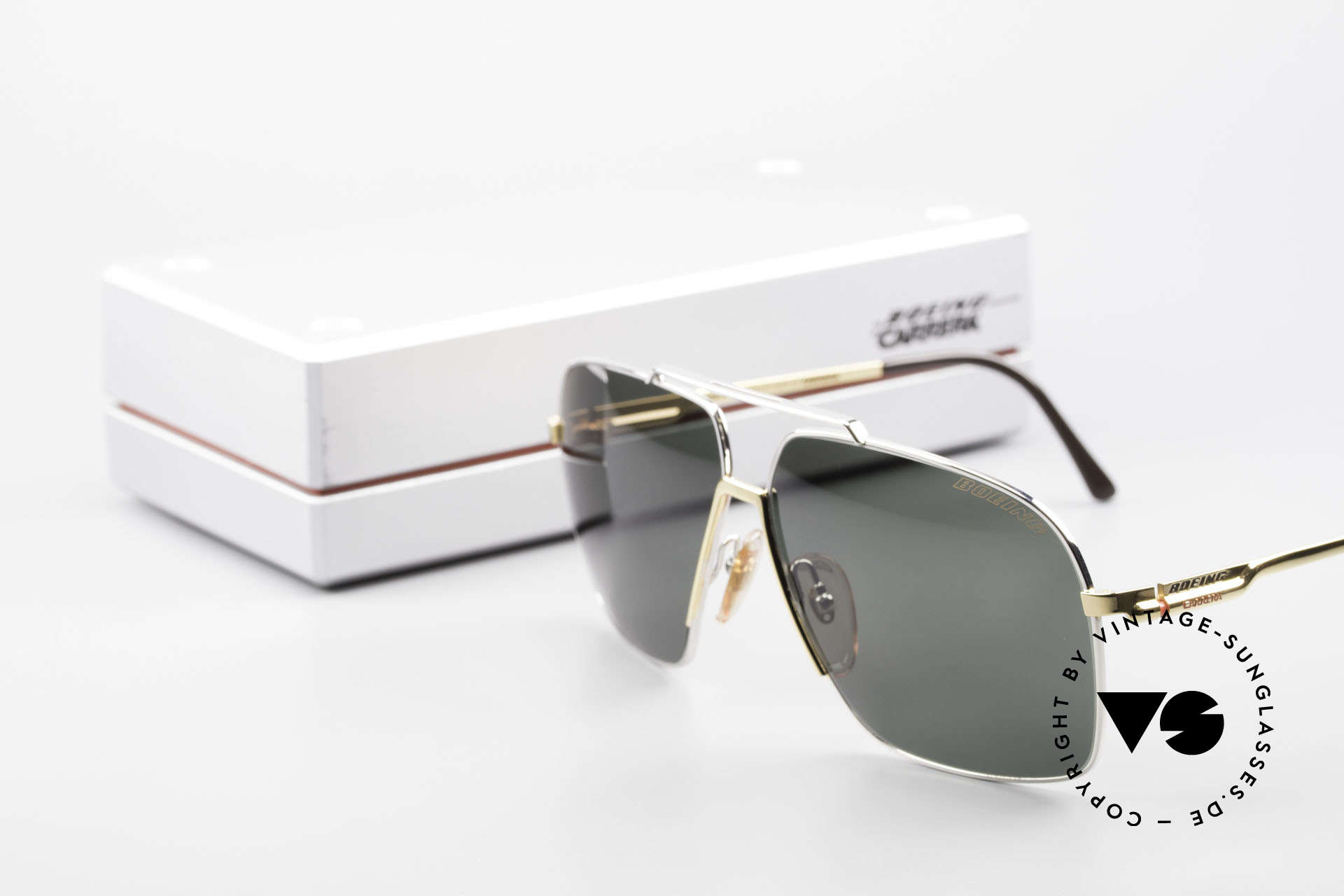 Boeing 5704 Original Old 80's Pilots Shades, Size: large, Made for Men
