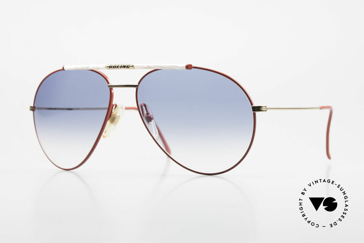 Boeing 5706 No Retro Sunglasses Vintage, the legendary 'The BOEING Collection by Carrera', Made for Men and Women