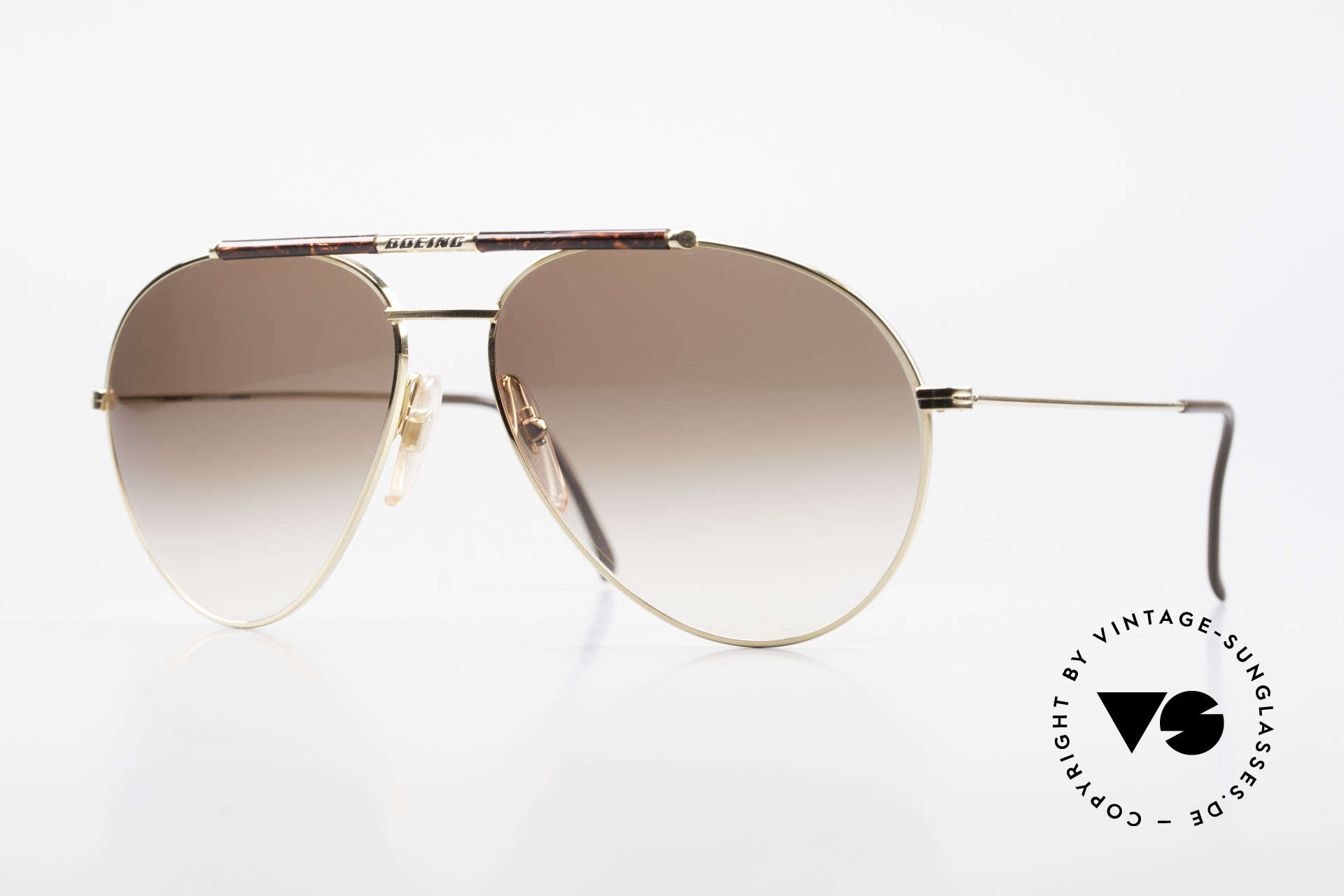 Boeing 5706 No Retro Glasses True Vintage, the legendary 'The BOEING Collection by Carrera', Made for Men