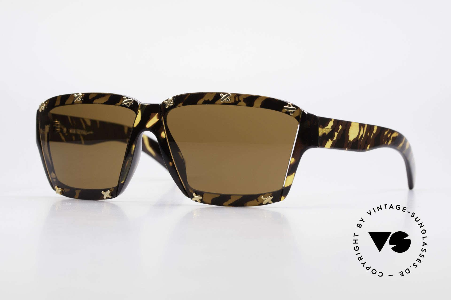Paloma Picasso 3702 No Retro Sunglasses Original, vintage ladies sunglasses by P. PICASSO from 1990, Made for Women