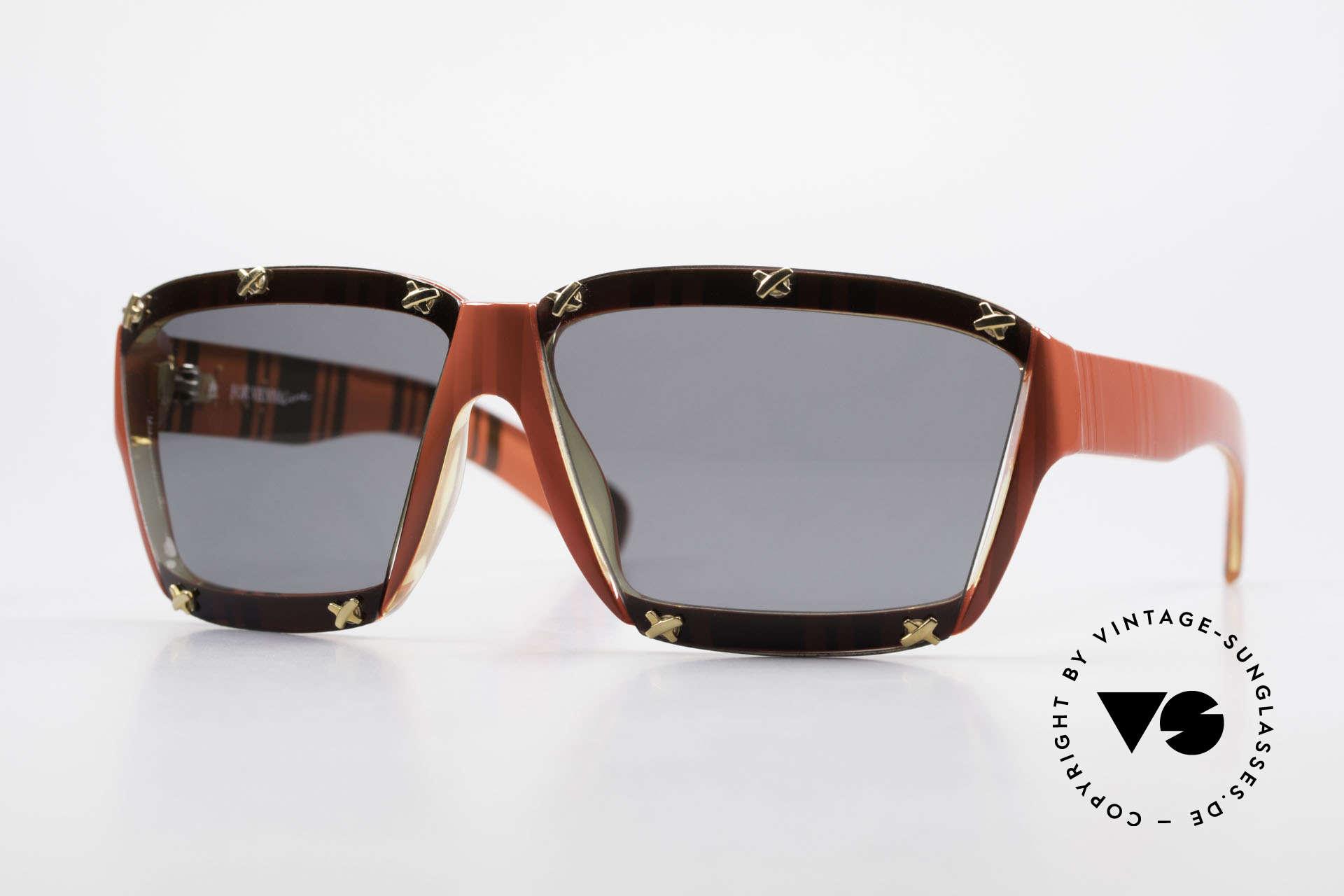 Paloma Picasso 3702 No Retro Sunglasses Ladies, vintage ladies sunglasses by P. PICASSO from 1990, Made for Women