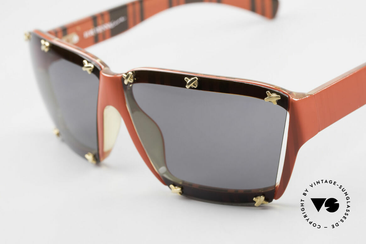 Paloma Picasso 3702 No Retro Sunglasses Ladies, the incredible Optyl material does not seem to age, Made for Women