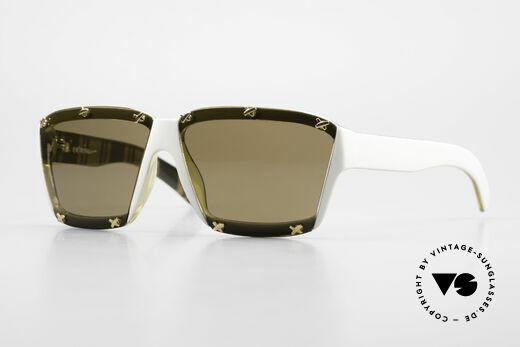 Paloma Picasso 3702 No Retro Designer Sunglasses Details