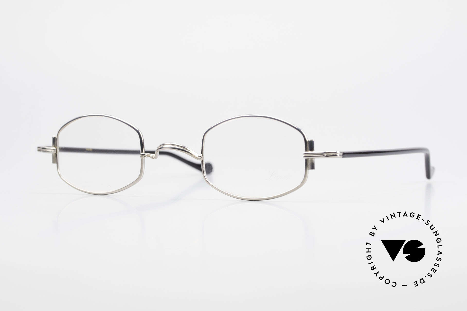 "Lunor XA 03 No Retro Lunor Glasses Vintage, minimalist Lunor eyeglass-frame of the Lunor ""X""-Series, Made for Men and Women"