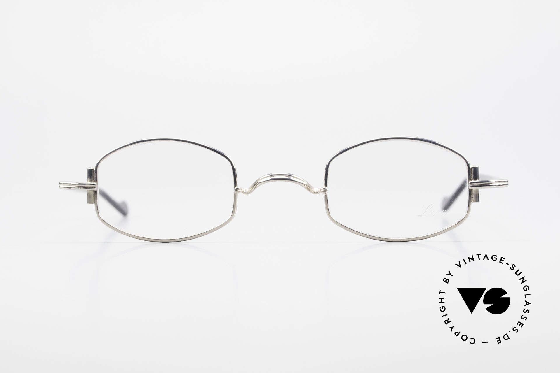 Lunor XA 03 No Retro Lunor Glasses Vintage, LUNOR = a traditional German brand (handmade quality), Made for Men and Women