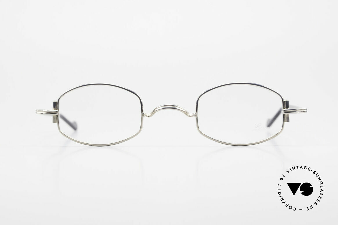 Lunor XA 03 No Retro Lunor Glasses Vintage, LUNOR = a traditional German brand (handmade quality), Made for Men and Women