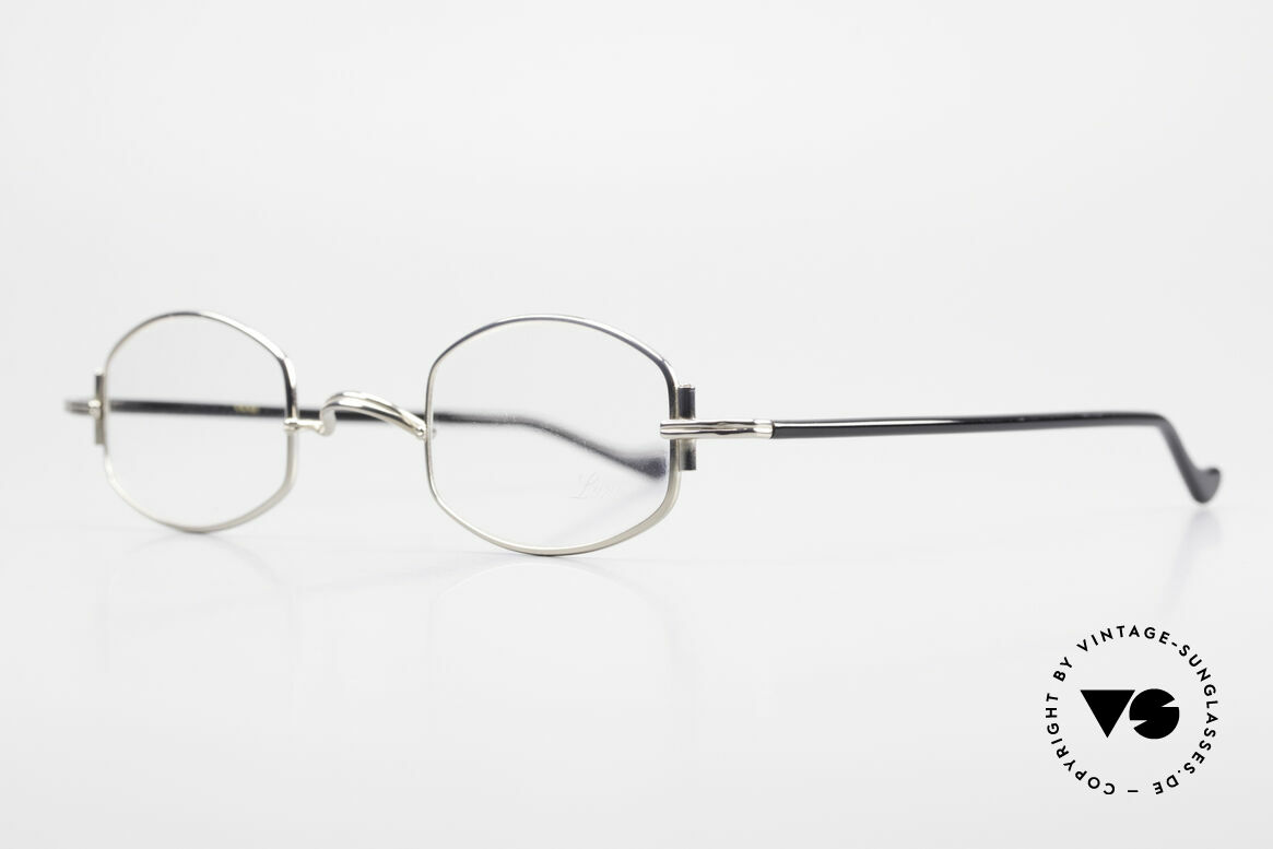 "Lunor XA 03 No Retro Lunor Glasses Vintage, well-known for the ""W-bridge"" & the plain frame designs, Made for Men and Women"