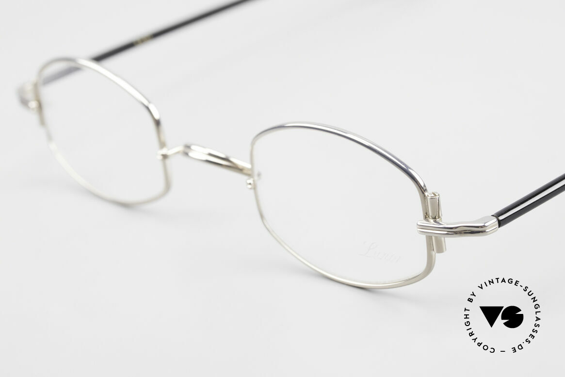 "Lunor XA 03 No Retro Lunor Glasses Vintage, model ""XA 03"" with anatomic bridge and acetate temples, Made for Men and Women"