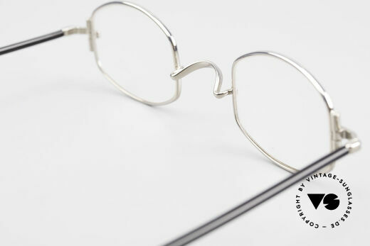 "Lunor XA 03 No Retro Lunor Glasses Vintage, the frame front / frame design looks like a ""LYING TON"", Made for Men and Women"