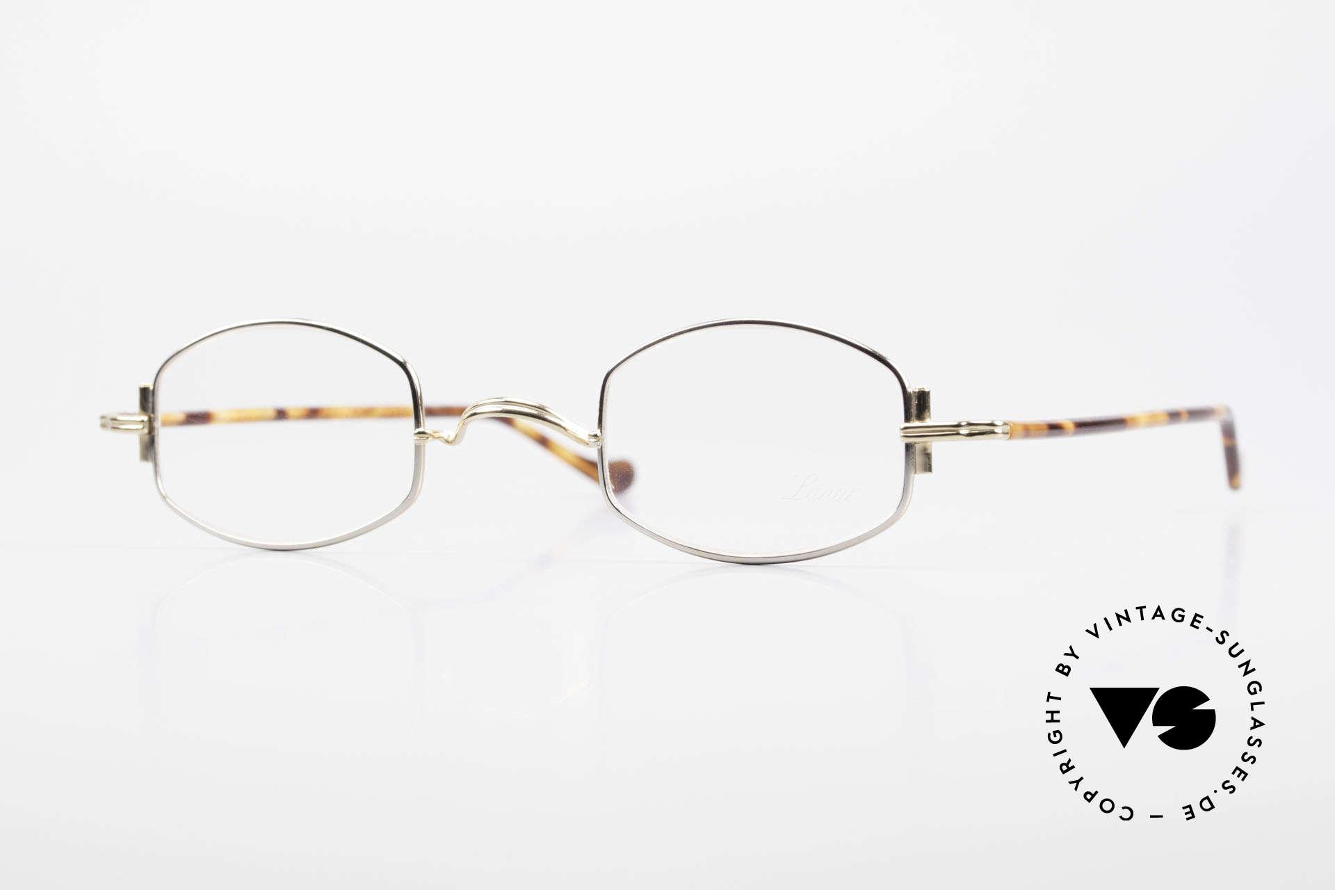 "Lunor XA 03 Lunor Eyeglasses True Vintage, minimalist Lunor eyeglass-frame of the Lunor ""X""-Series, Made for Men and Women"