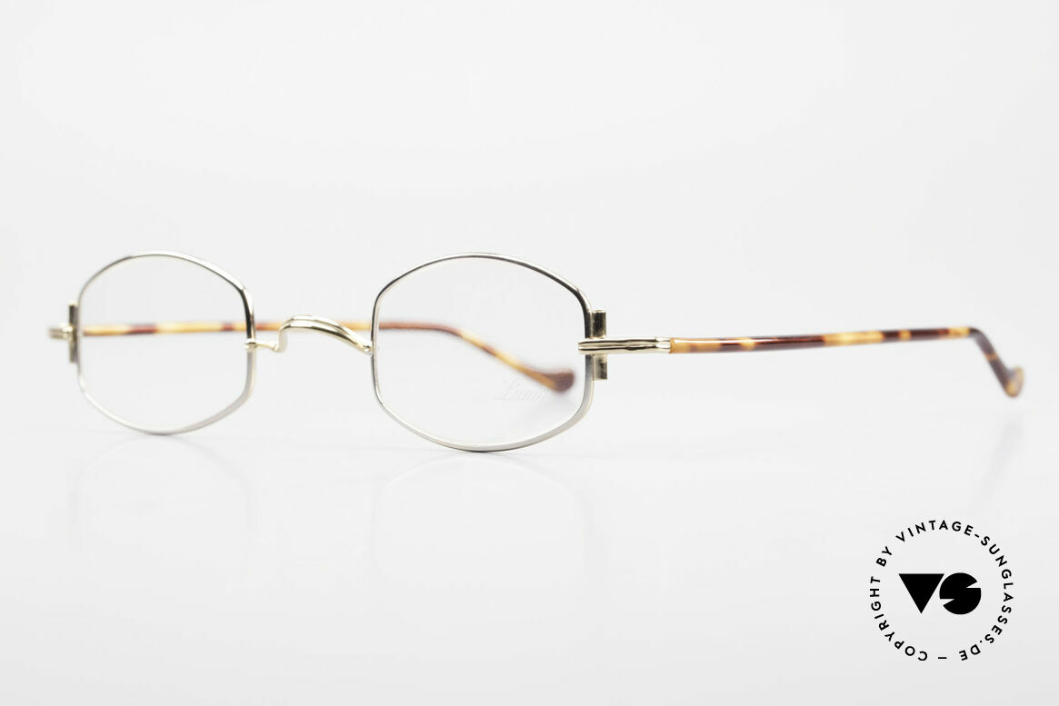 """Lunor XA 03 Lunor Eyeglasses True Vintage, well-known for the """"W-bridge"""" & the plain frame designs, Made for Men and Women"""