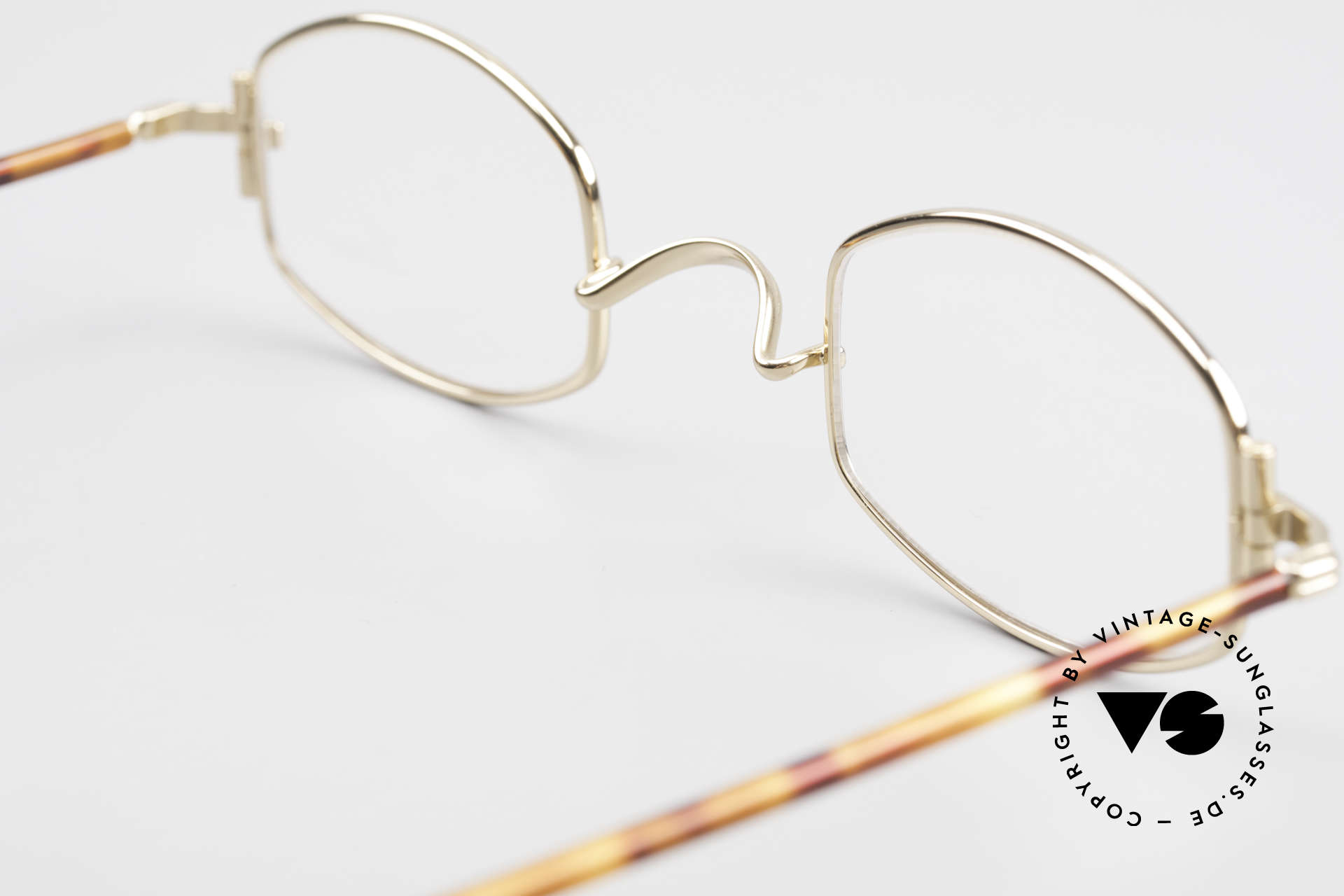 """Lunor XA 03 Lunor Eyeglasses True Vintage, the frame front / frame design looks like a """"LYING TON"""", Made for Men and Women"""