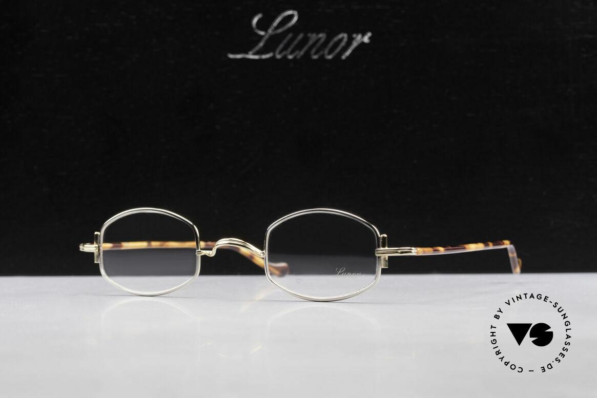Lunor XA 03 Lunor Eyeglasses True Vintage, Size: medium, Made for Men and Women