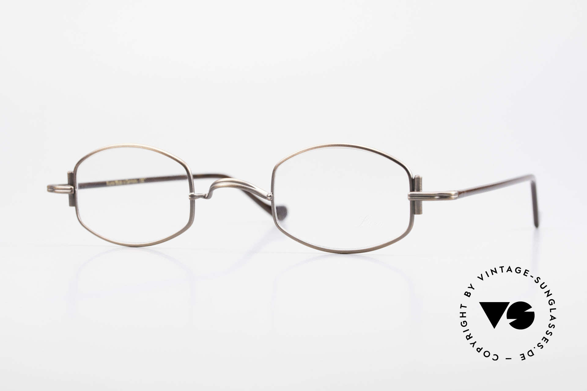 "Lunor XA 03 Old Lunor Eyewear Classic, minimalist Lunor eyeglass-frame of the Lunor ""X""-Series, Made for Men and Women"