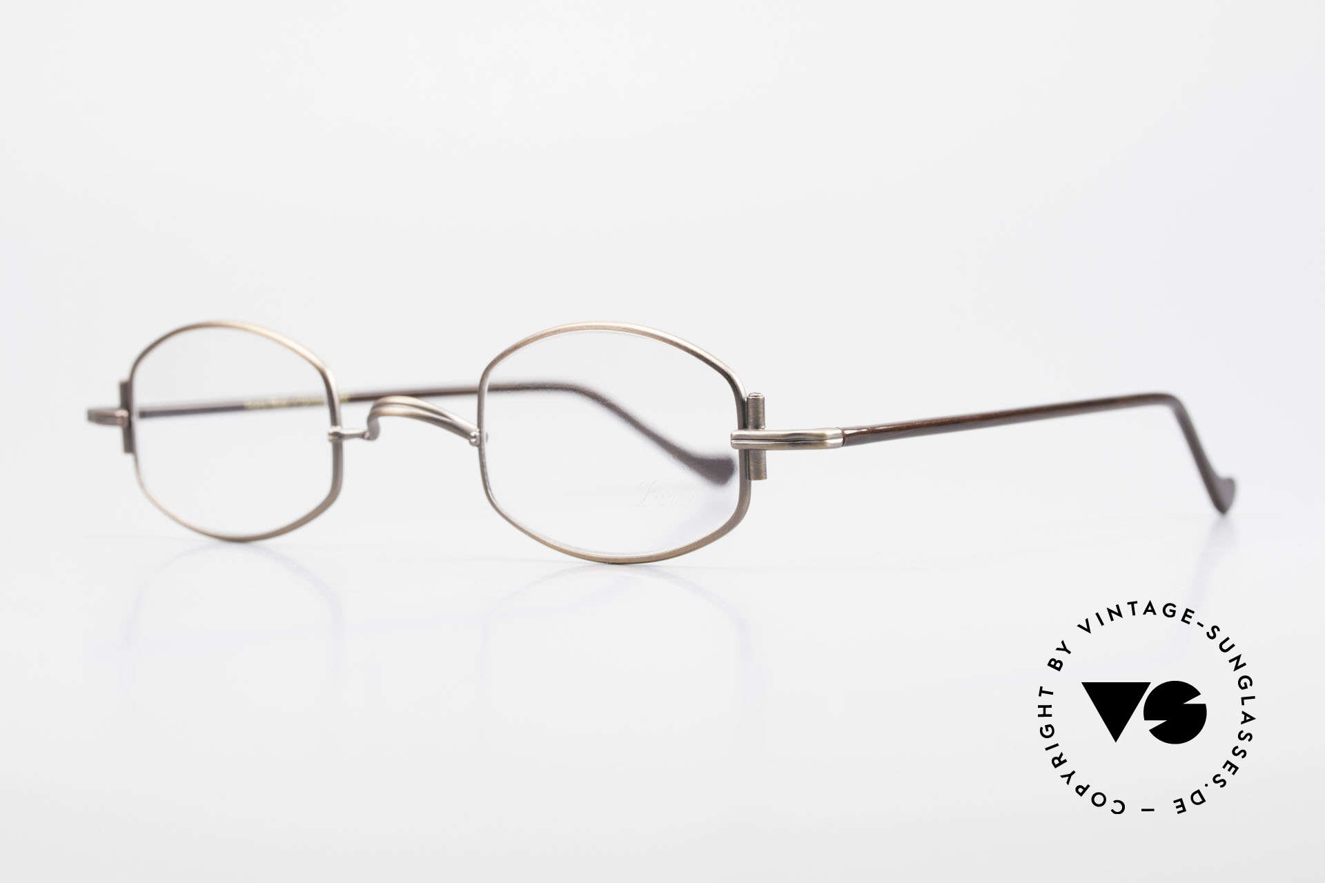 "Lunor XA 03 Old Lunor Eyewear Classic, well-known for the ""W-bridge"" & the plain frame designs, Made for Men and Women"