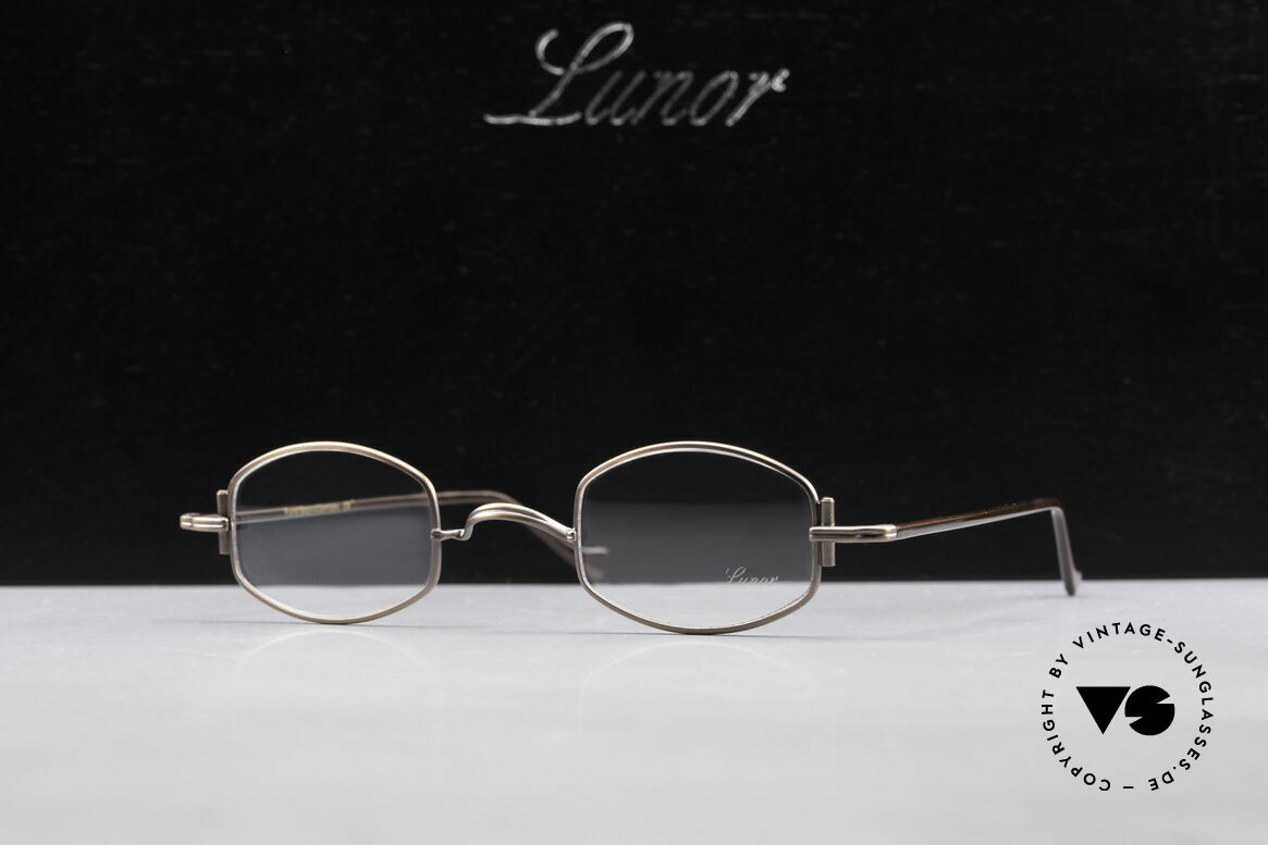 Lunor XA 03 Old Lunor Eyewear Classic, Size: medium, Made for Men and Women