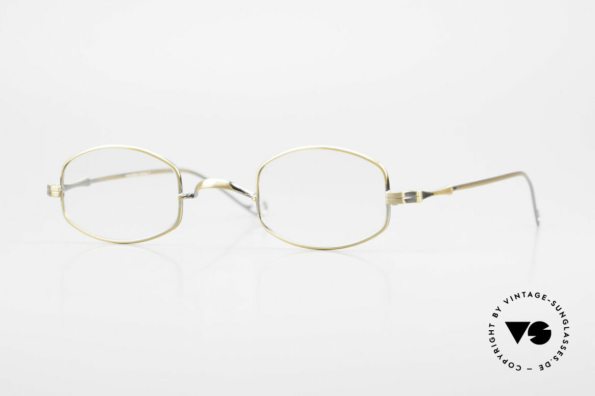 "Lunor II 16 Lunor Eyeglasses Old Classic, minimalist Lunor eyeglass-frame of the Lunor ""II""-Series, Made for Men and Women"