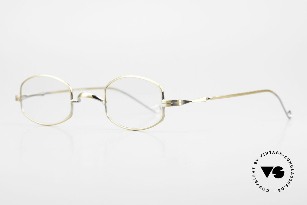 """Lunor II 16 Lunor Eyeglasses Old Classic, well-known for the """"W-bridge"""" & the plain frame designs, Made for Men and Women"""