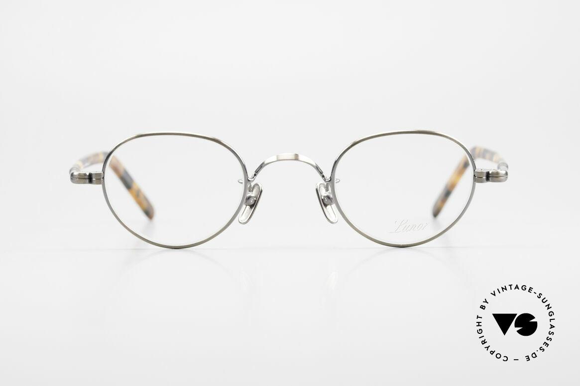 Lunor VA 103 Lunor Eyeglasses Old Original, LUNOR: honest craftsmanship with attention to details, Made for Men and Women