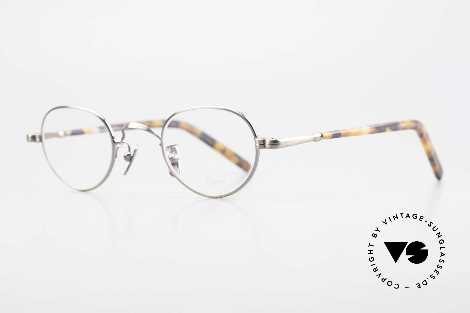 Lunor VA 103 Lunor Eyeglasses Old Original, without ostentatious logos (but in a timeless elegance), Made for Men and Women