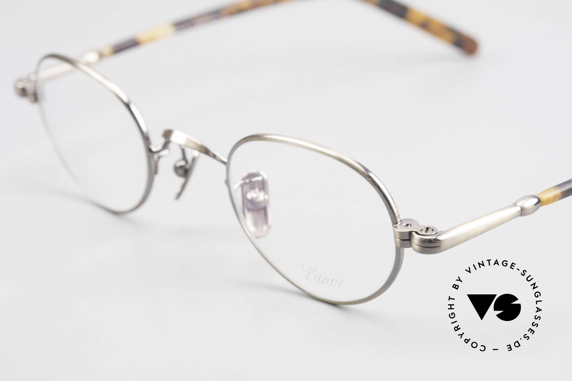Lunor VA 103 Lunor Eyeglasses Old Original, model VA 103 = acetate-metal temples & titanium pads, Made for Men and Women