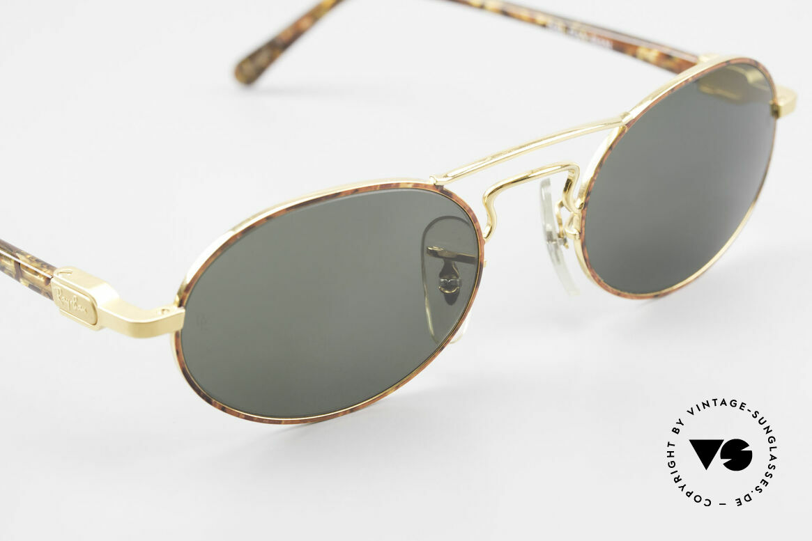 Ray Ban Chaos Oval 90's B&L USA Ray-Ban W2008, UNWORN rarity with interesting frame color / finish, Made for Men and Women