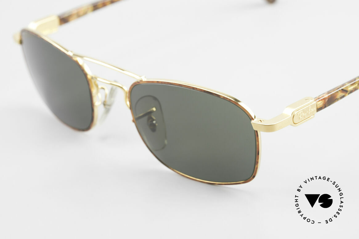 Ray Ban Chaos Square 90's B&L USA Ray-Ban W2007, legendary mineral lenses: scratch-resistant, 100% UV, Made for Men and Women