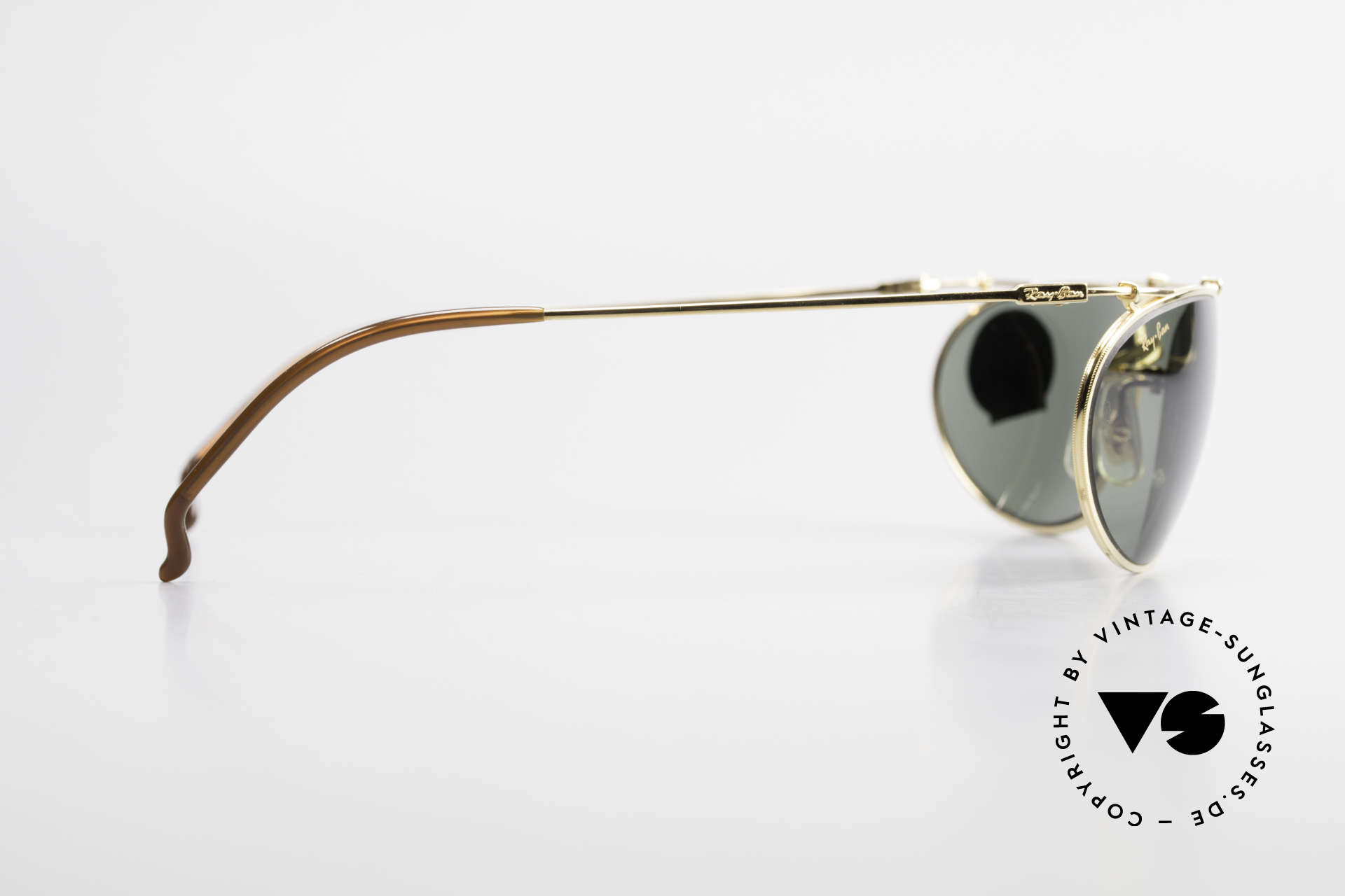Ray Ban Deco Metals Wrap Old Bausch Lomb Ray-Ban USA, NO RETRO SHADES, but an original by Bausch&Lomb, Made for Men and Women