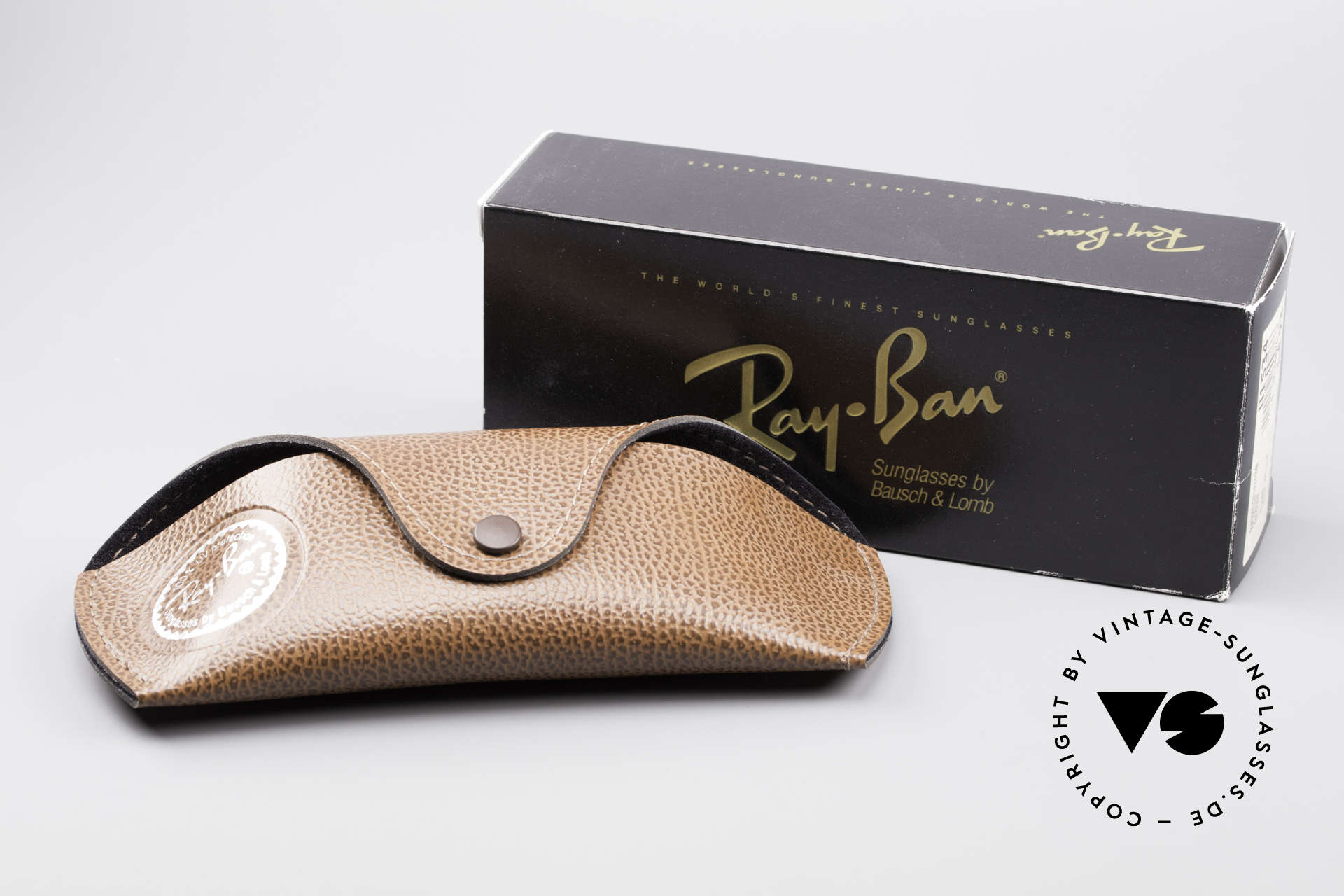 Ray Ban Deco Metals Wrap Old Bausch Lomb Ray-Ban USA, Size: medium, Made for Men and Women