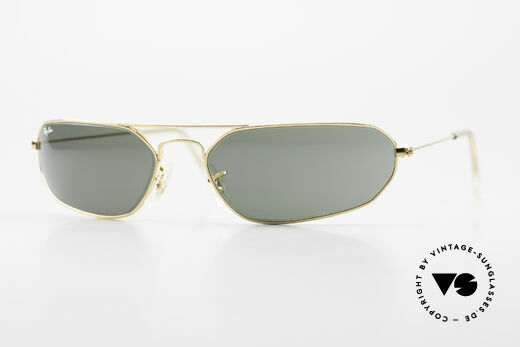 Ray Ban Fugitives Hexagon 90's Ray-Ban Bausch Lomb B&L Details