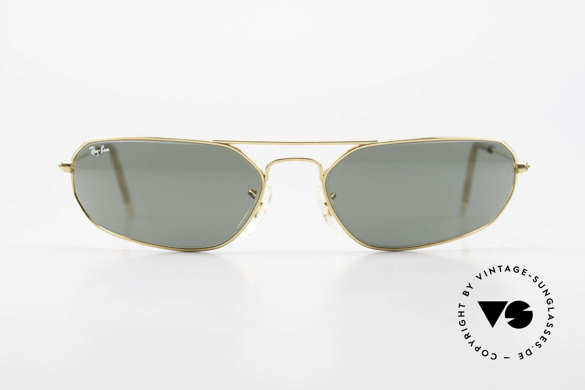 Ray Ban Fugitives Hexagon 90's Ray-Ban Bausch Lomb B&L, sporty futuristic sunglasses by RAY-BAN (U.S.A.), Made for Men