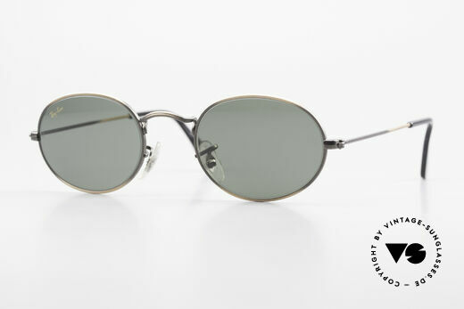 Ray Ban Classic Style I Oval Ray-Ban Sunglasses B&L Details