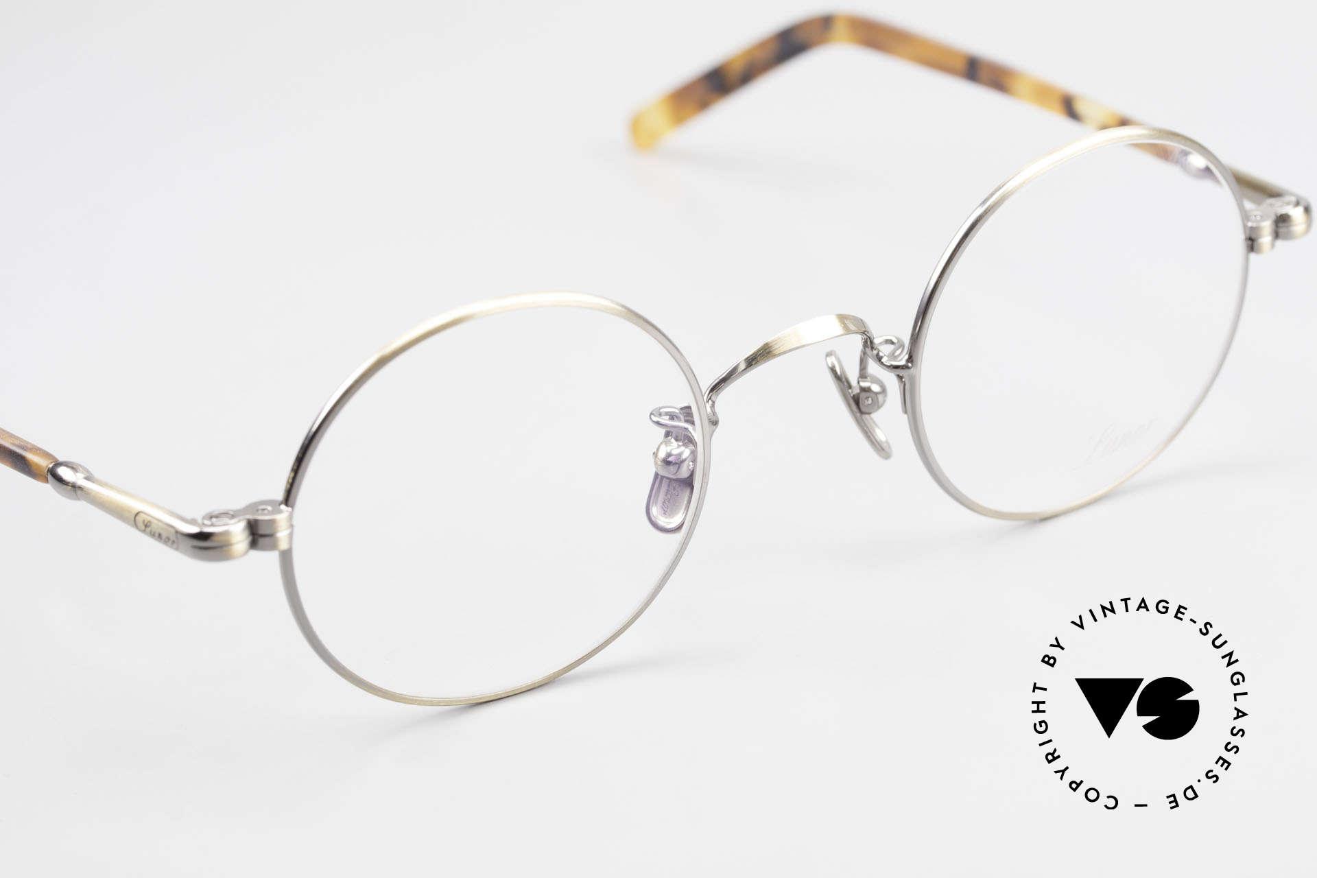 Lunor VA 110 Round Lunor Glasses Original, top-notch craftsmanship & timeless round frame design, Made for Men and Women