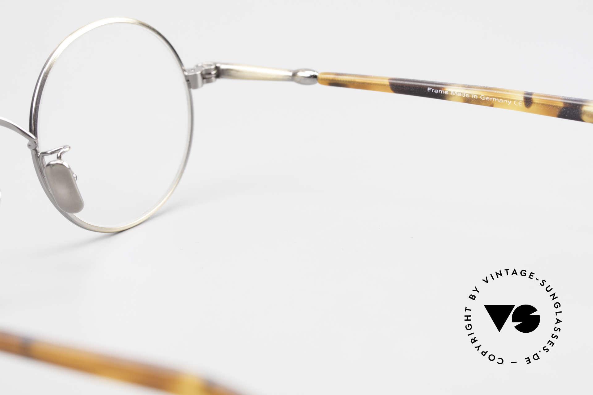 Lunor VA 110 Round Lunor Glasses Original, Size: medium, Made for Men and Women