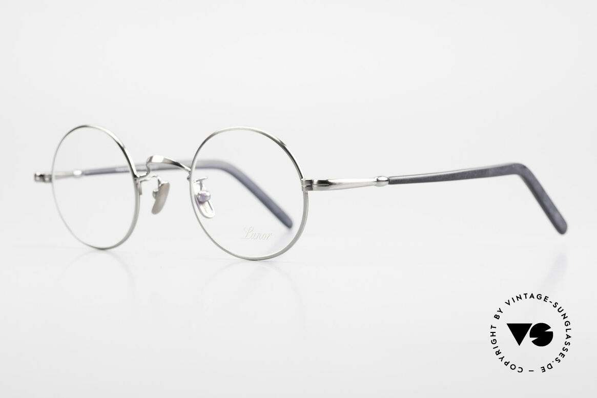 Lunor VA 110 Original Lunor Glasses Round, without ostentatious logos (but in a timeless elegance), Made for Men and Women