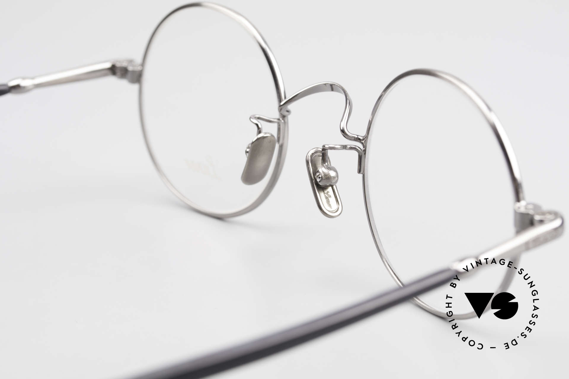 Lunor VA 110 Original Lunor Glasses Round, unworn (like all our vintage eyewear classics by LUNOR), Made for Men and Women