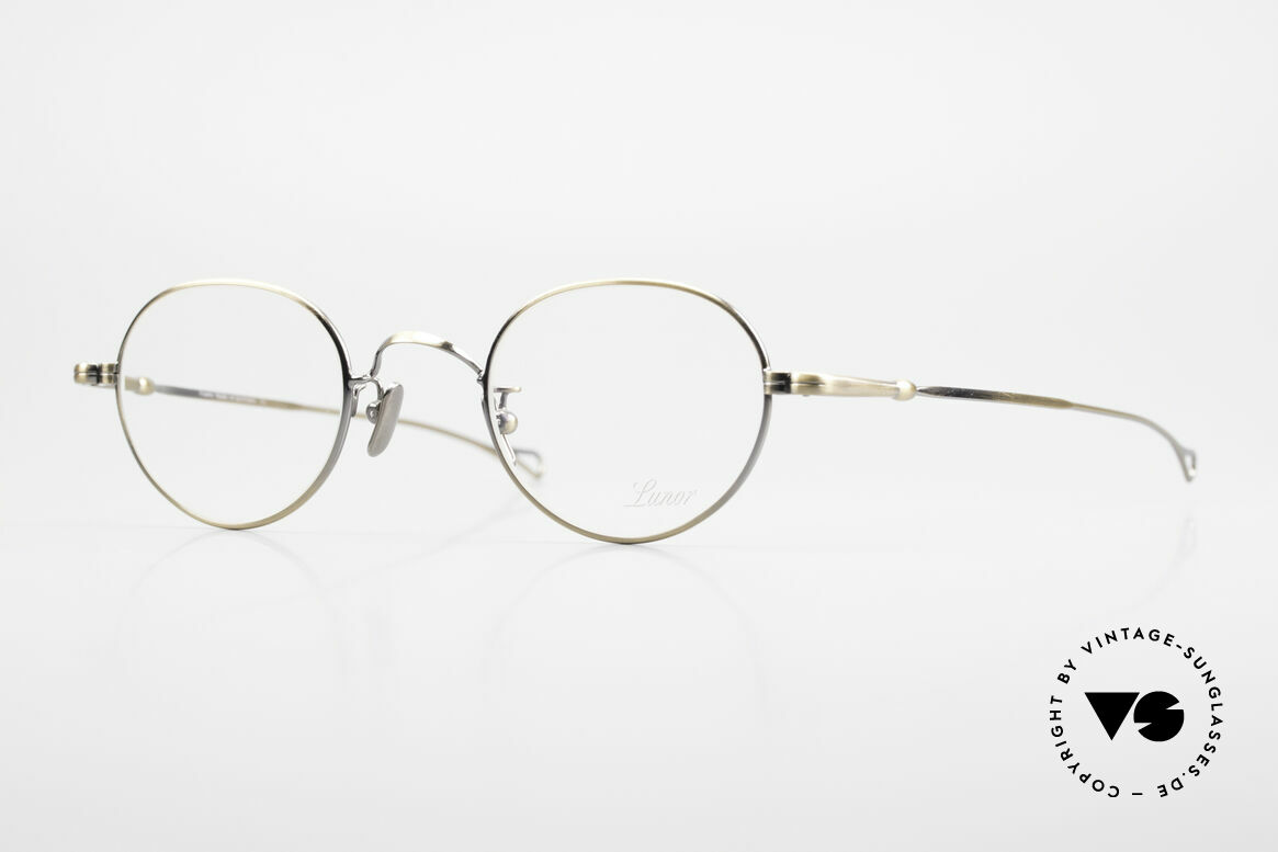 Lunor V 108 Metal Frame With Titanium Pads, LUNOR: honest craftsmanship with attention to details, Made for Men