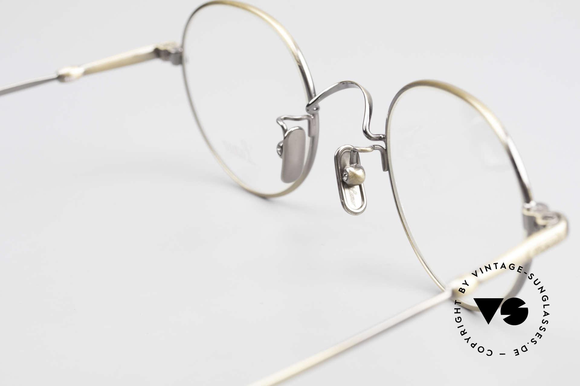 Lunor V 108 Metal Frame With Titanium Pads, Size: medium, Made for Men
