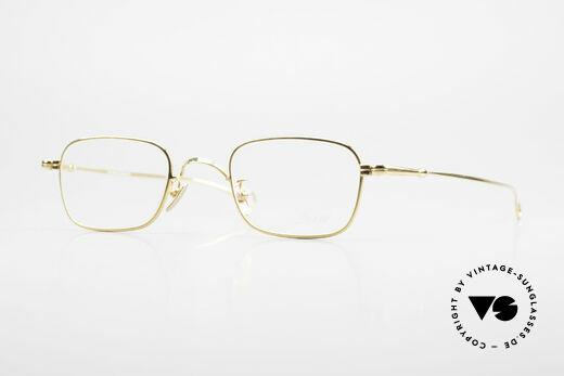 Lunor V 109 Lunor Men's Frame Gold Plated Details
