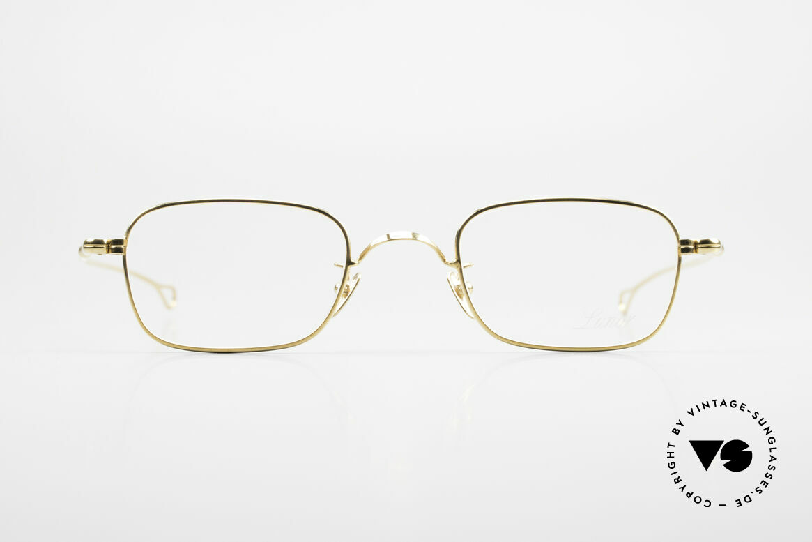 Lunor V 109 Lunor Men's Frame Gold Plated, LUNOR: honest craftsmanship with attention to details, Made for Men