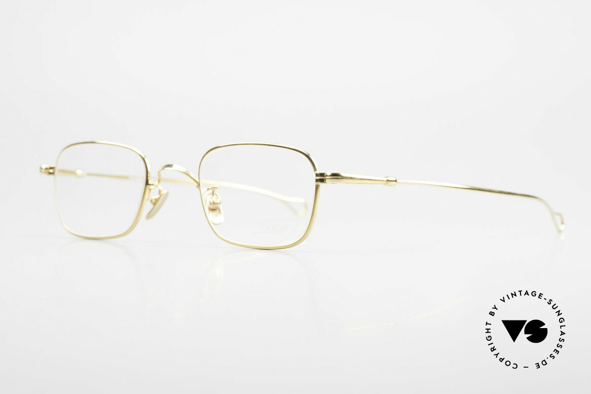 Lunor V 109 Lunor Men's Frame Gold Plated, without ostentatious logos (but in a timeless elegance), Made for Men