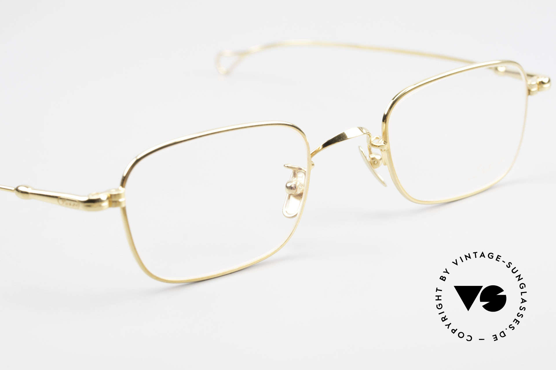 Lunor V 109 Lunor Men's Frame Gold Plated, from the 2011's collection, but in a well-known quality, Made for Men