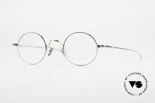 Lunor V 110 Lunor Glasses Round Platinum Details