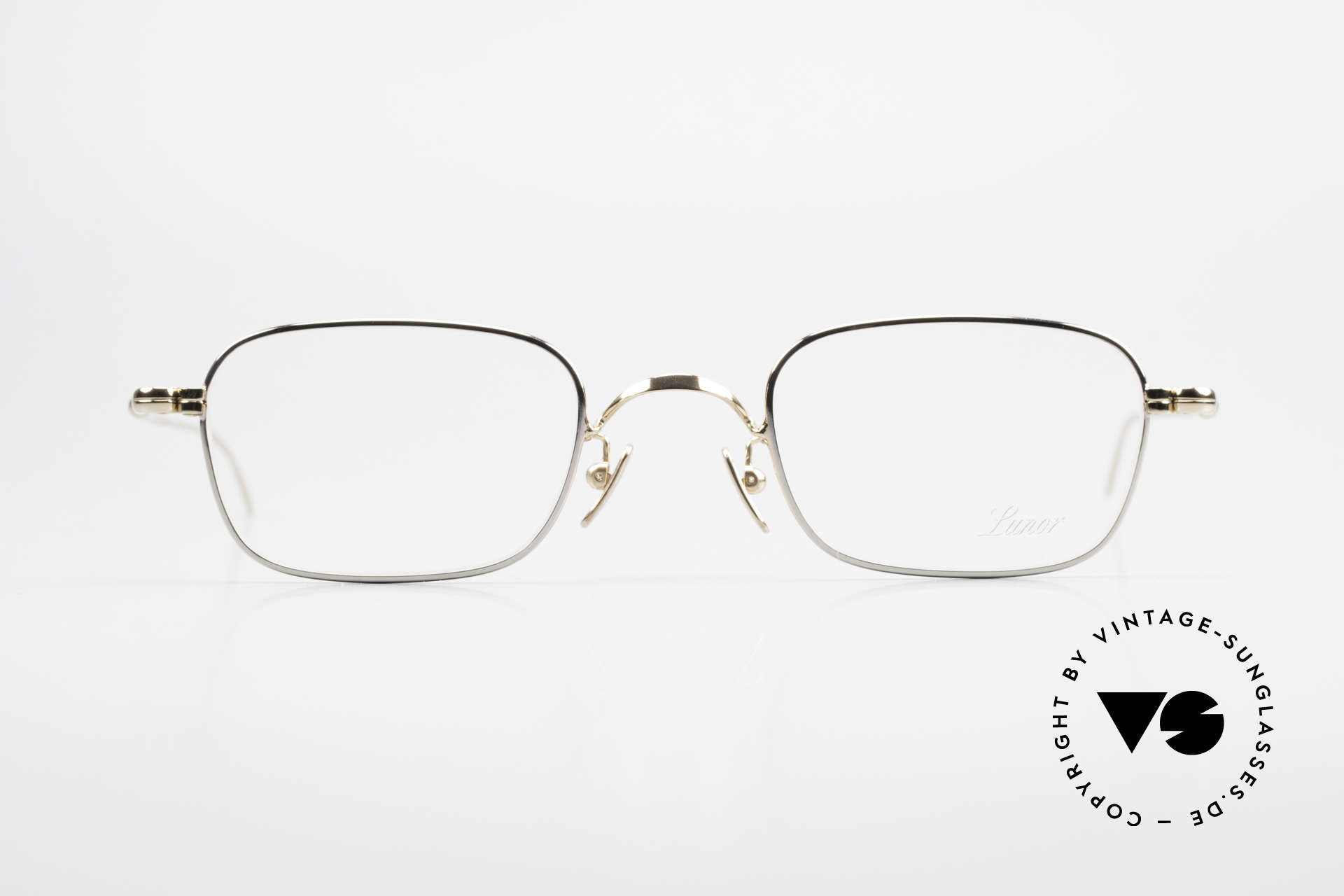 Lunor V 109 Old Lunor Men's Frame Metal, LUNOR: honest craftsmanship with attention to details, Made for Men
