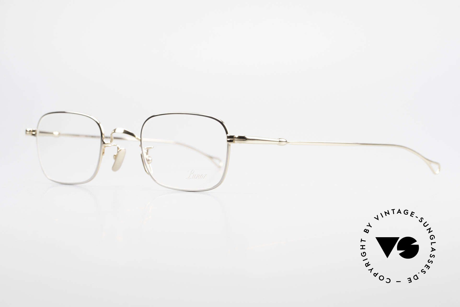 Lunor V 109 Old Lunor Men's Frame Metal, without ostentatious logos (but in a timeless elegance), Made for Men