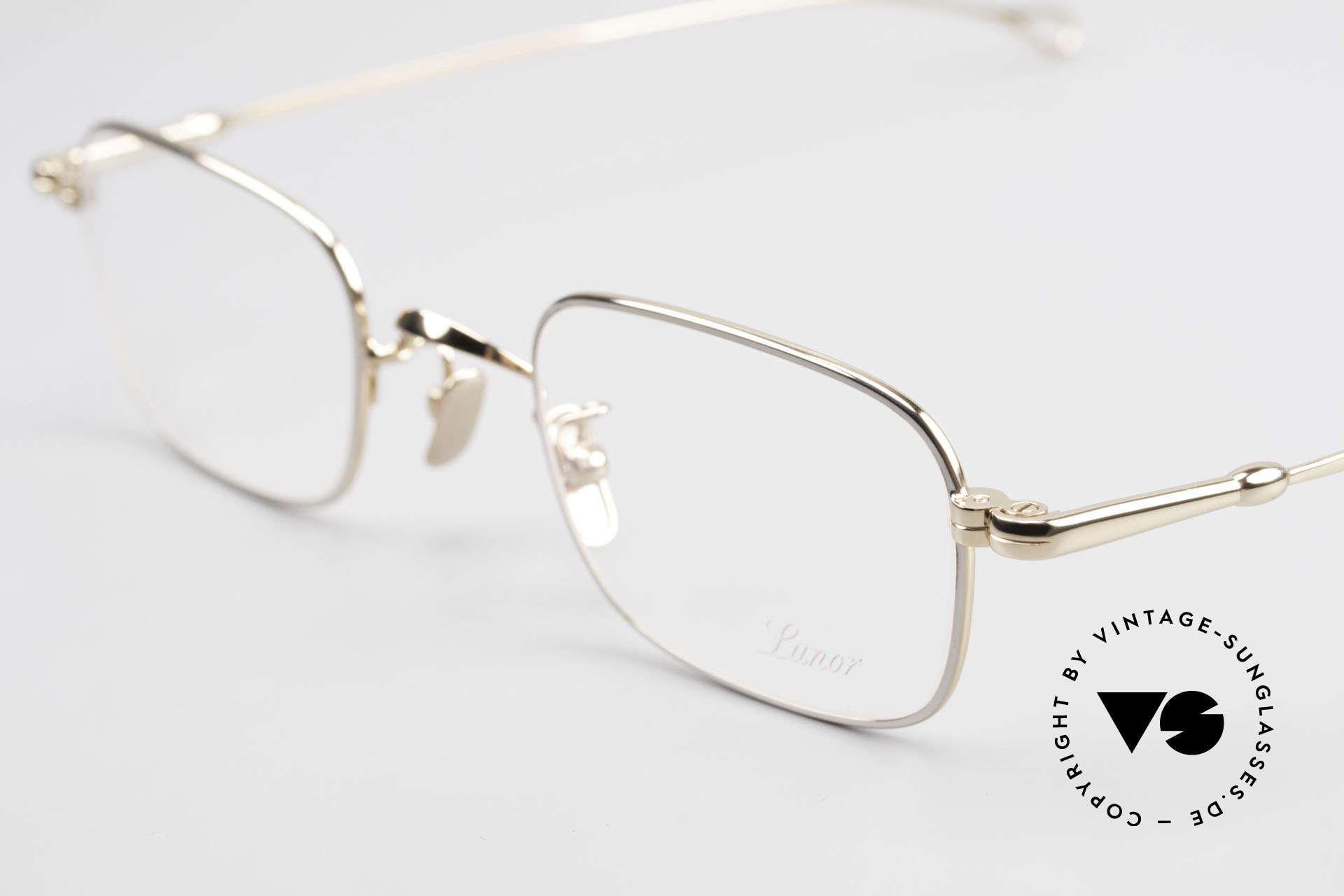 Lunor V 109 Old Lunor Men's Frame Metal, mod. V109: a very elegant eyewear classic for gentlemen, Made for Men